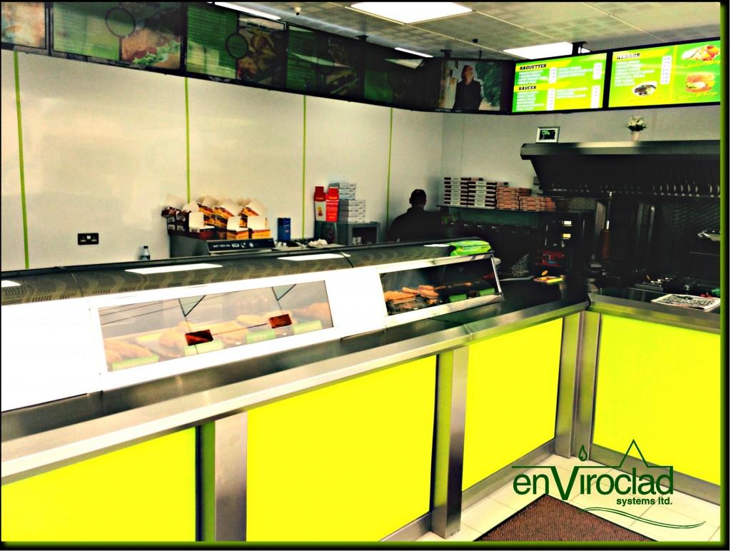 Enviroclad Colourline Lime Green PVC