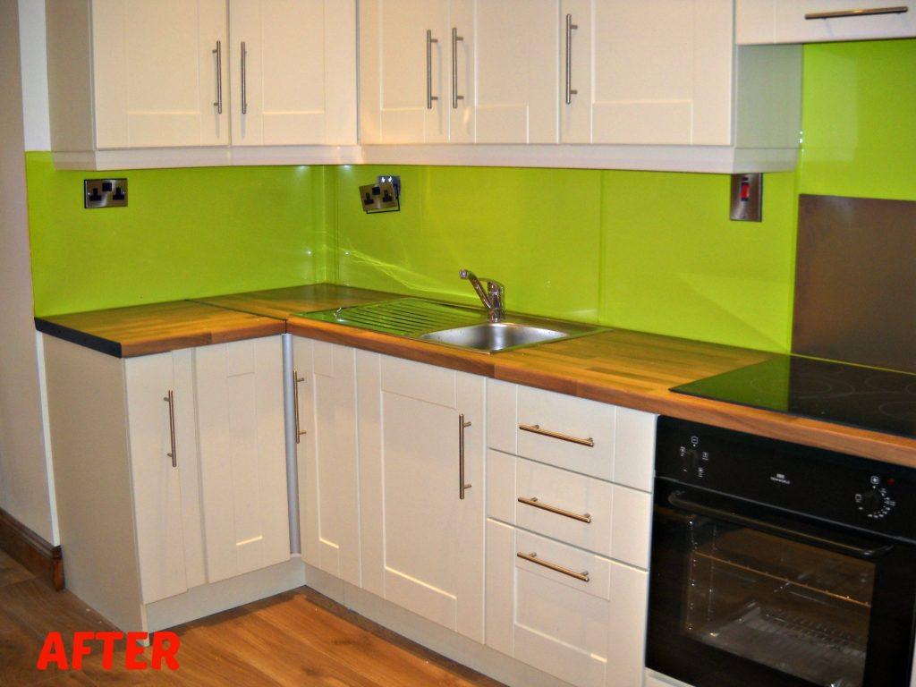 kitchen-pvc-sheets-lime-green