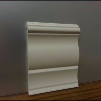WHITE PVC Skirtying