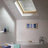 Ridged Silver Ceiling