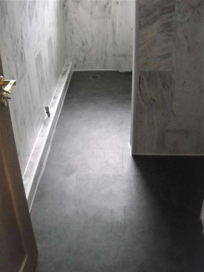 Pvc flooring and wall cladding