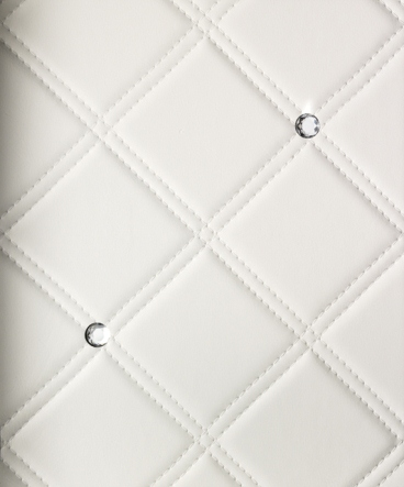 CR CRISTAL ROMBO 85 Bianco matt/ Silver