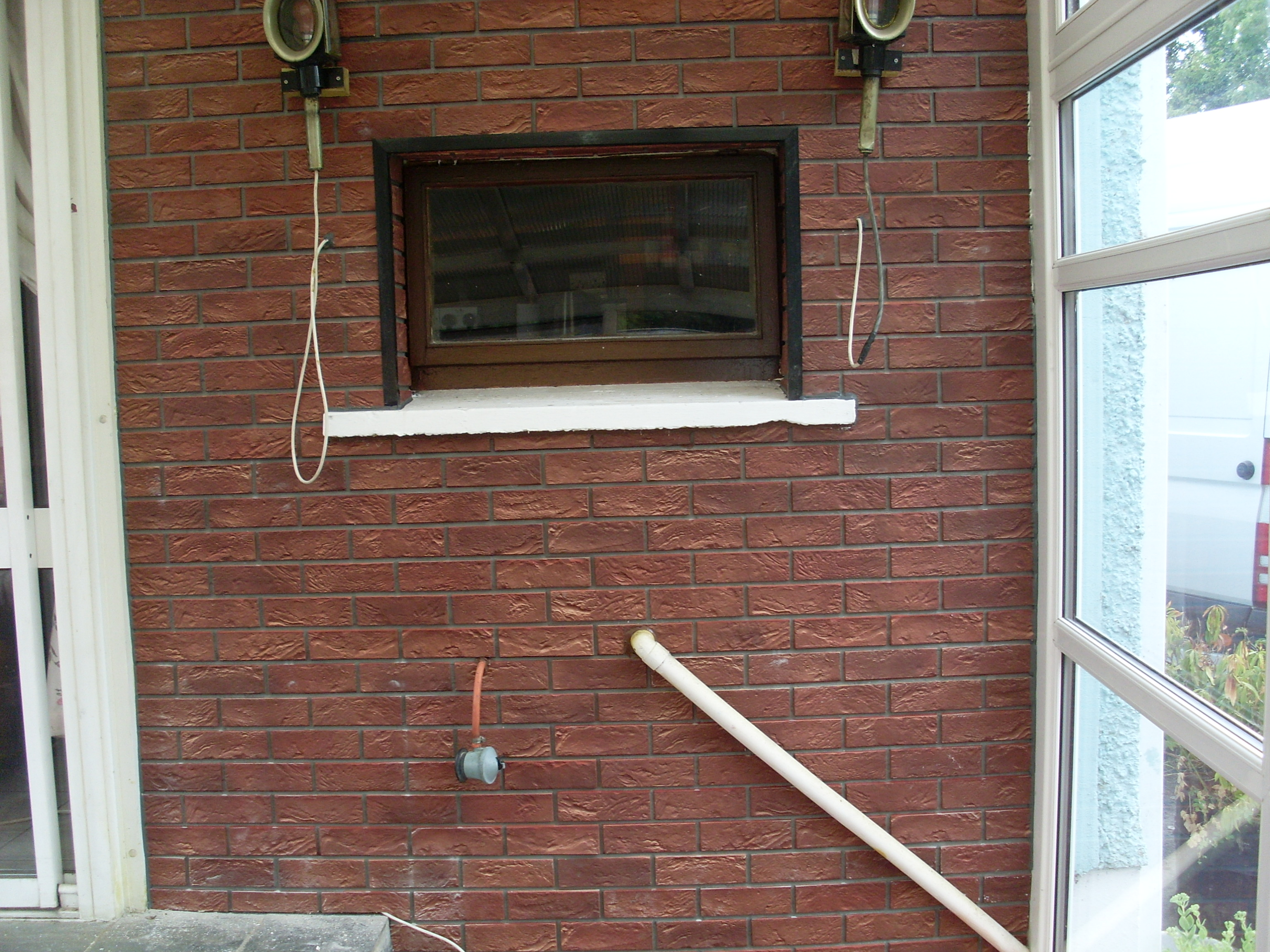 PVC Red Brick Cladding