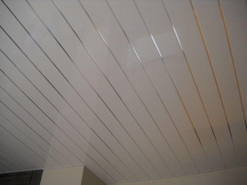 Pvc Ceiling Panel Silver Ridged Enviroclad Hygienic