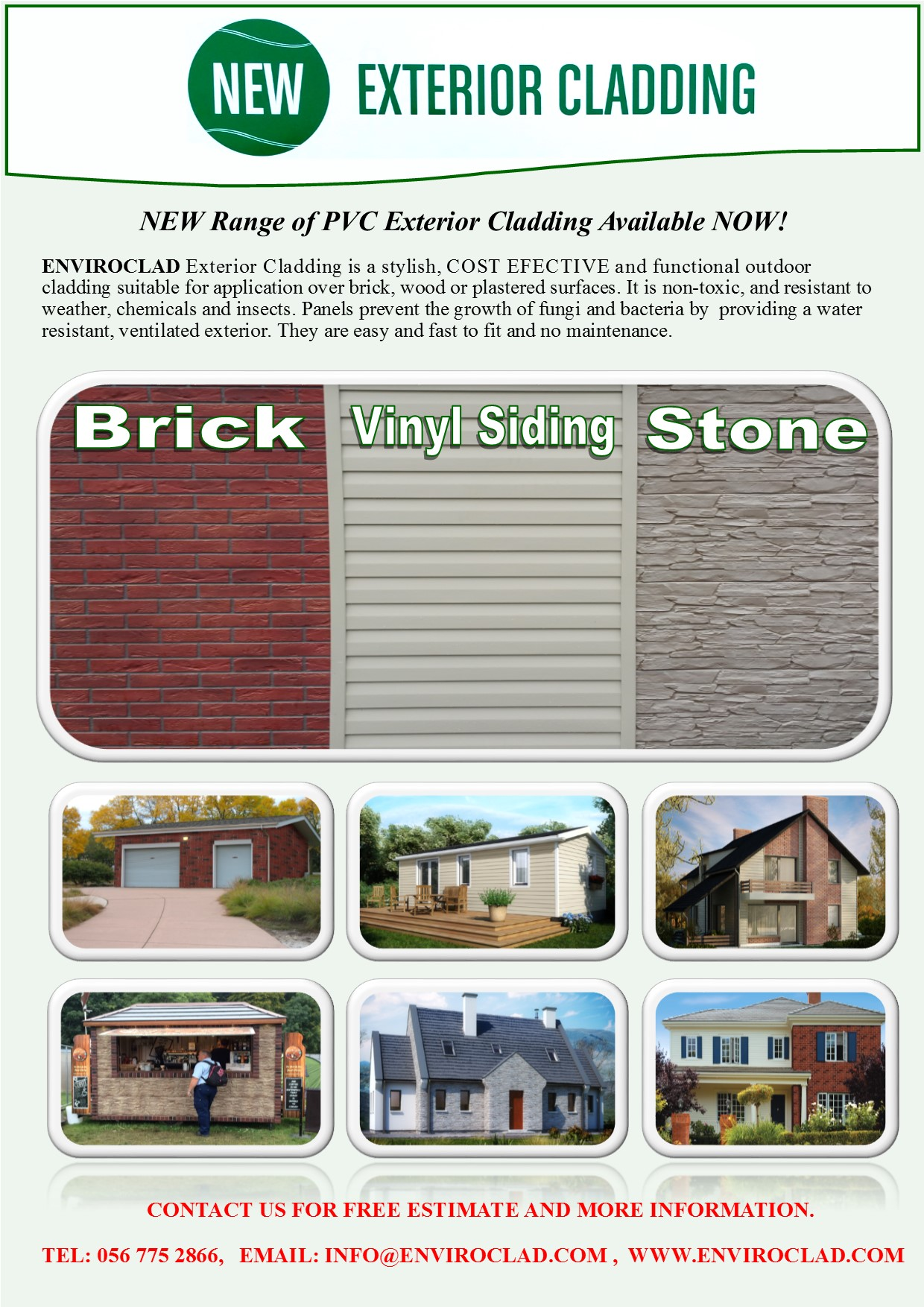 EXTERIOR CLADDING BROCHURE - 14.09