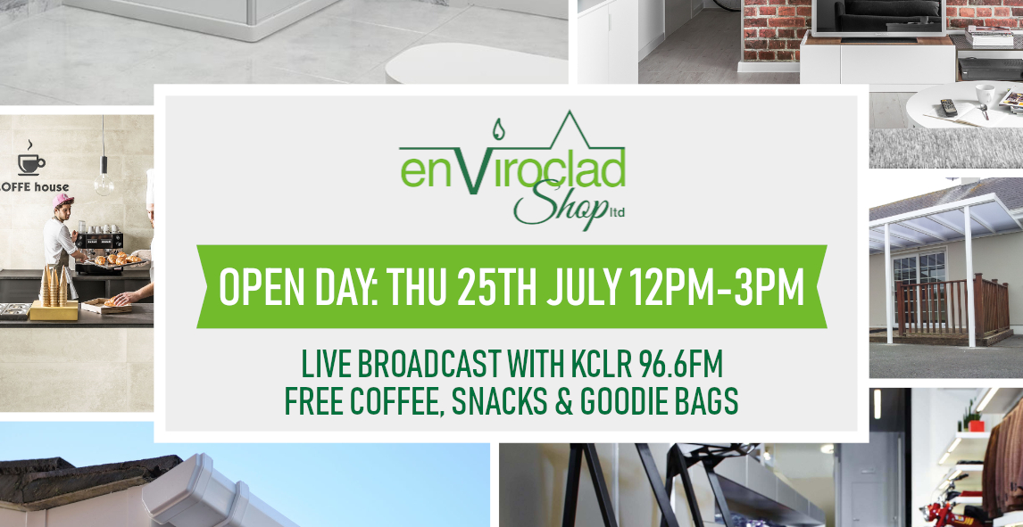 Enviroclad Shop Open Day