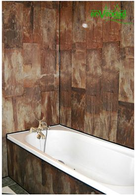 PVC BATHROOM Millennium Bronze Tile