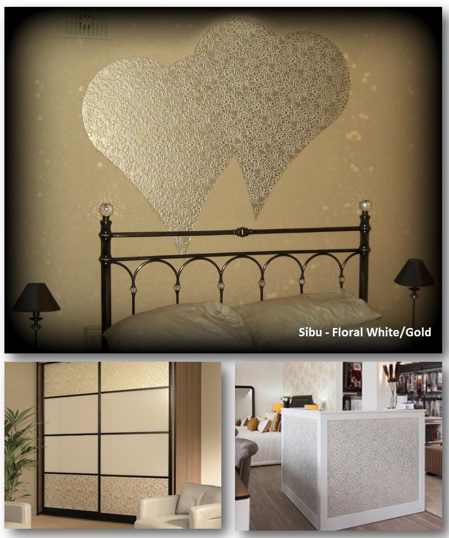 Sibu Floral White Gold