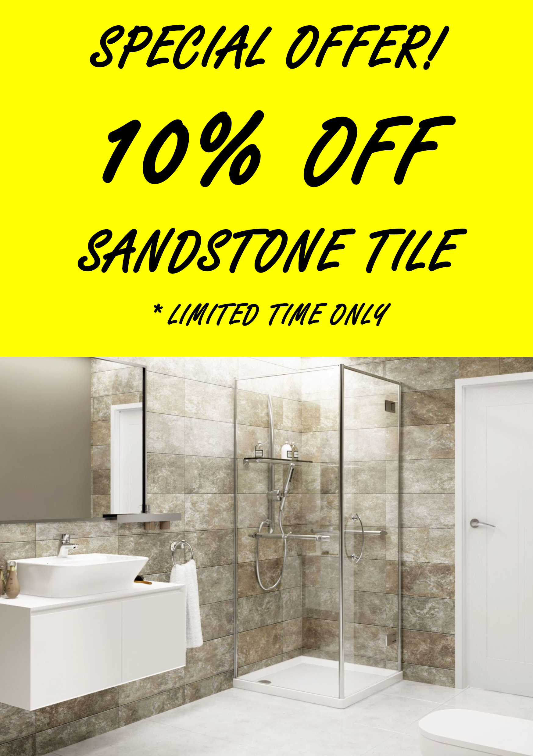 Sandstone Tile 10% OFF