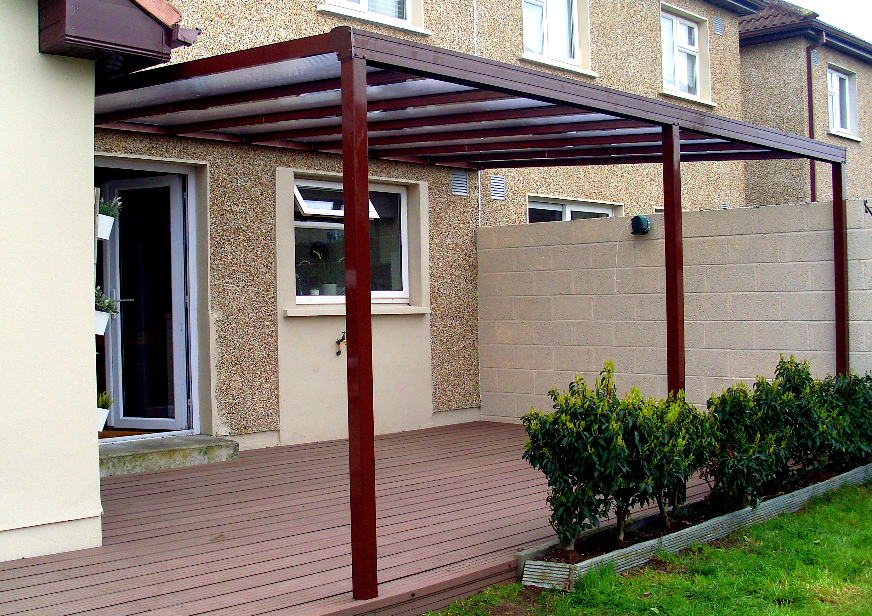 Enviroclad Canopy and Decking