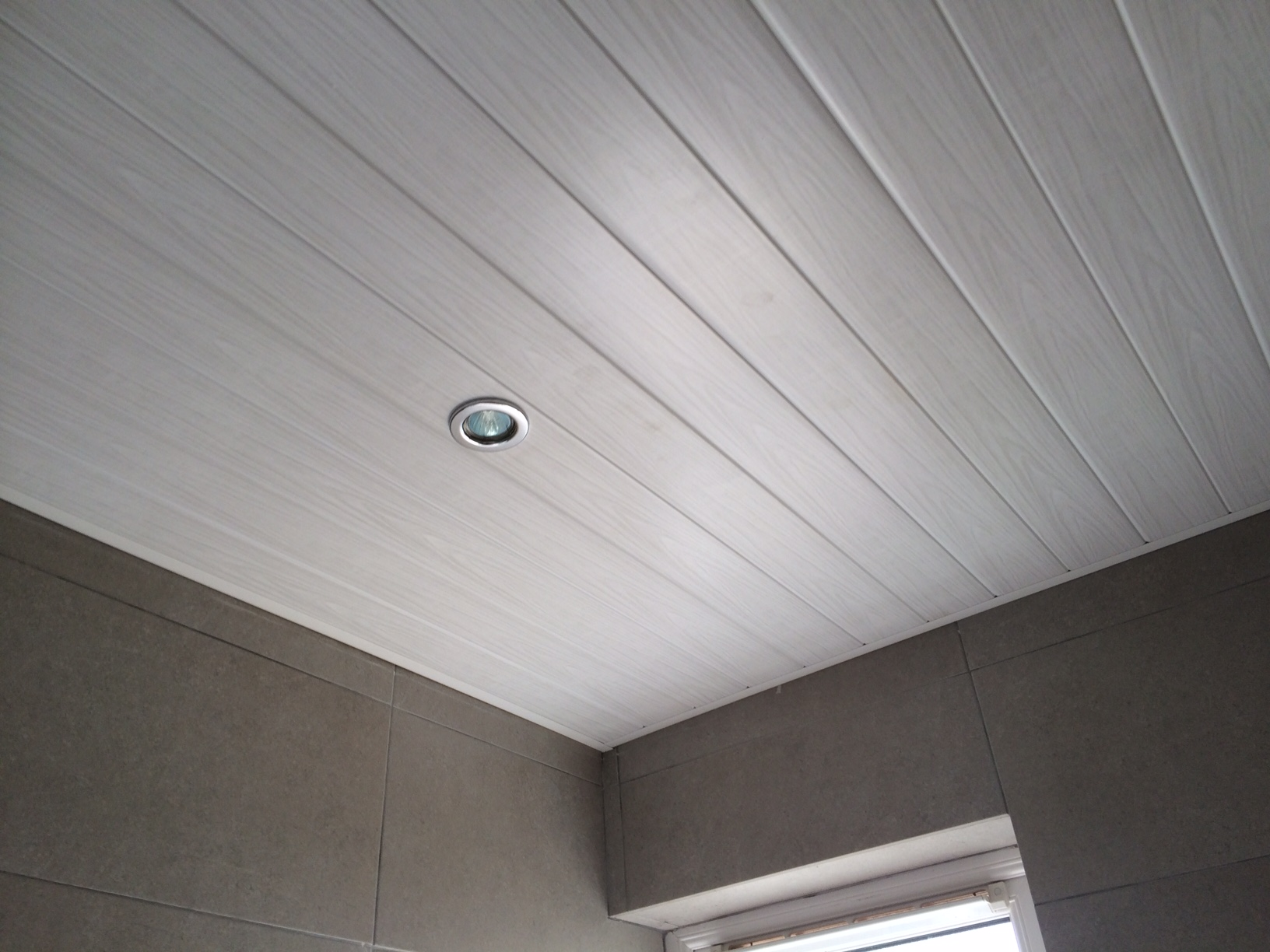 White Ash PVC Ceiling | Enviroclad - Hygienic & Decorative ...
