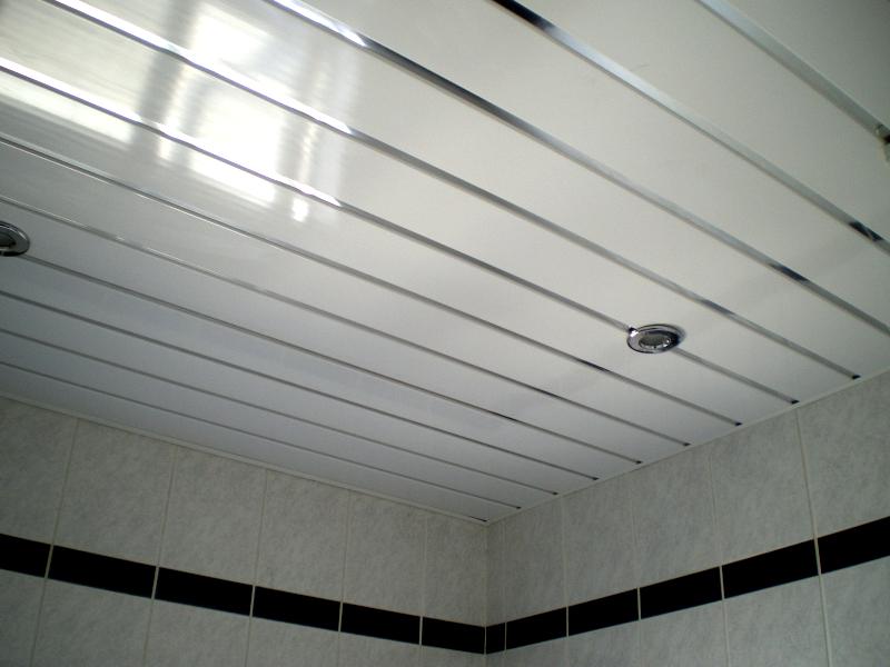 Matt White PVC Ceiling Panels