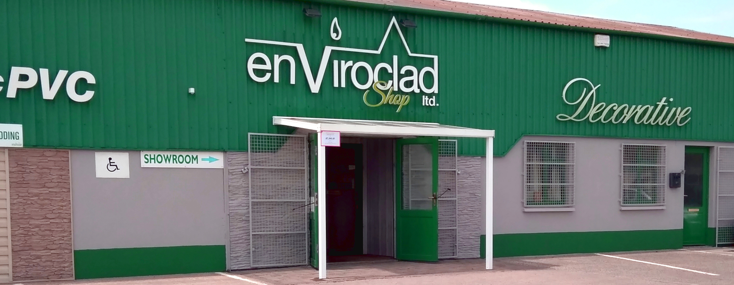 Enviroclad: Decorative PVC Cladding, Hygienic PVC Sheeting, PVC Building Products