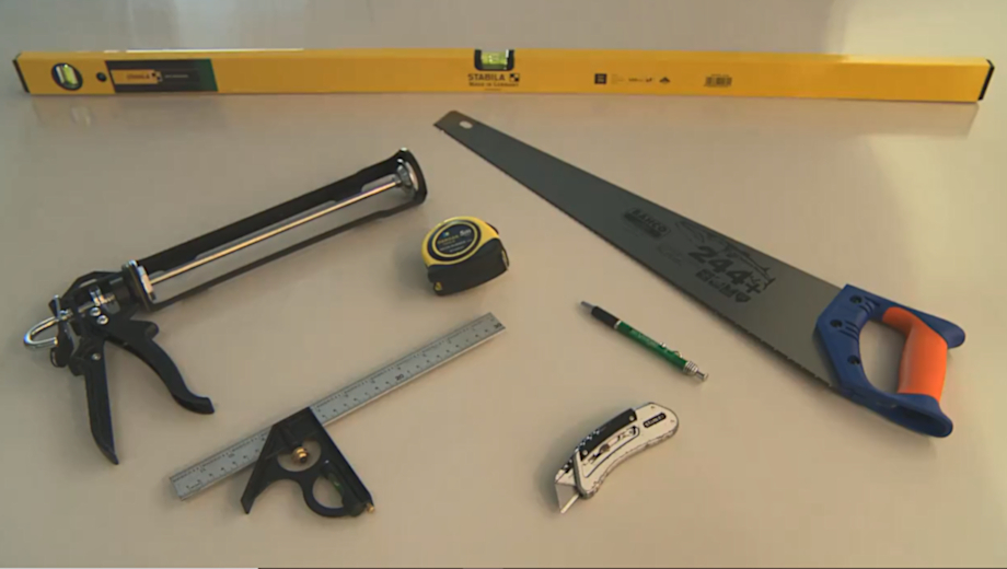 Tools for PVC cladding
