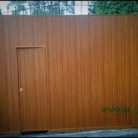 PVC GATE CLADDING
