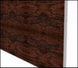 Wood Fascia - Mahogany