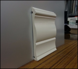 bathroom pvc skirting