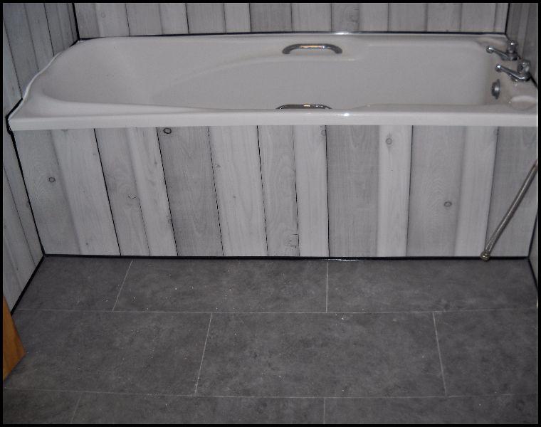 Whitewash Pine Enviroclad PVC Bathroom cladding