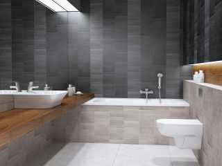 Modern Tile Anthracite Pvc wall panels (1)