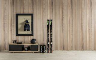 Oak PVC panels Enviroclad